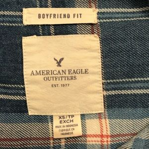 American Eagle Outfitters Tops - American Eagle Outfitters Plaid Long Sleeve Shirt